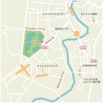 宝石と大聖堂の街 地図で見やすいチャンタブリー観光