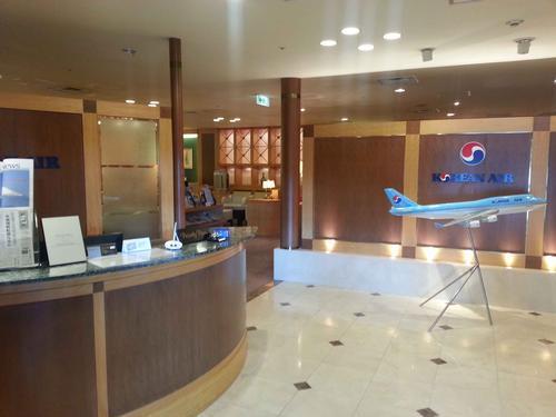 関西国際空港 北ターミナル KALビジネスクラスラウンジ 入り口