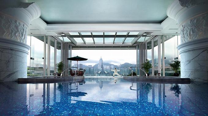 ザ ペニンシュラ 香港 プール